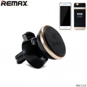 Remax 360 Degrees Mobile Car Holder with Casing iPhone 7/8 Plus - RM-C19 - Black