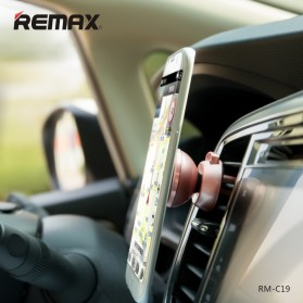 REMAX 360 Degrees Mobile Car Holder with Casing iPhone 7/8 Plus - RM-C19 - White - 5