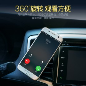 REMAX 360 Degrees Mobile Car Holder with Casing iPhone 7/8 Plus - RM-C19 - White - 8
