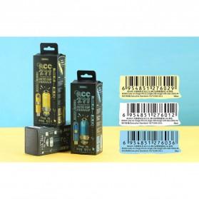 Remax Charger Mobil Minions Lightning + Type C + 1 USB Port - RCC211 - Black - 5