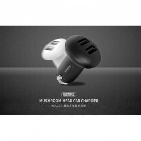 Remax Mushroom Dual USB Car Charger 2.1A - RCC210 - Black