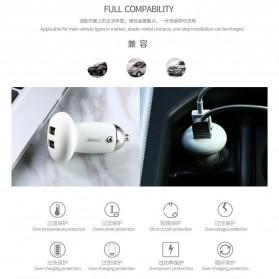 Remax Mushroom Dual USB Car Charger 2.1A - RCC210 - Black - 3