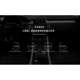 Remax Mushroom Dual USB Car Charger 2.1A - RCC210 - Black - 4