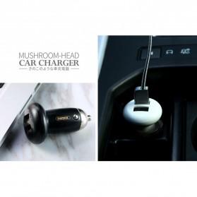 Remax Mushroom Dual USB Car Charger 2.1A - RCC210 - Black - 6