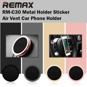 REMAX 360 Degree Smartphone Car Holder Magnetic - RM-C30 - Black