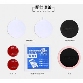 REMAX 360 Degree Smartphone Car Holder Magnetic - RM-C30 - Black - 6