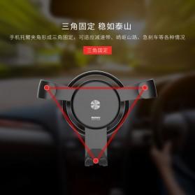 Remax Car Air Vent Smartphone Gravity Holder - RM-C31 - Black - 4