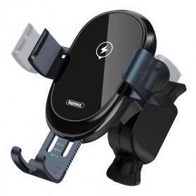 Remax Car Wireless Charger Intelligent Sensor Air Vent Mount - RM-C39 - Black