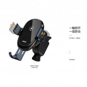 Remax Car Wireless Charger Intelligent Sensor Air Vent Mount - RM-C39 - Black - 3