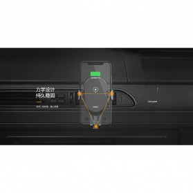 Remax Car Wireless Charger Intelligent Sensor Air Vent Mount - RM-C39 - Black - 5