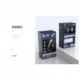 Remax Car Wireless Charger Intelligent Sensor Air Vent Mount - RM-C39 - Black - 8