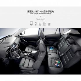 Remax Rhea Series Car Charger 3 Port 3.1A - RCC401 - Black - 3