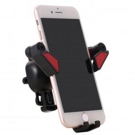 Remax Proda T Cool Series Car Holder Mount Phone - PD-C01 - Black/Red - 5