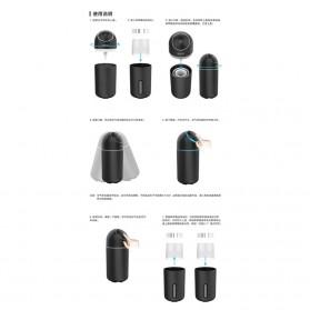 Remax Life Shield Series Car Air Purifier - RL-CE05 - Deep Gray - 7