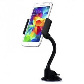 Baseus Curve Car Mount Holder for Smartphone / iPhone 4 - 5.5 Inch - Black