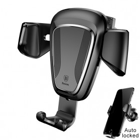 Baseus Air Vent Car Holder Smartphone Autolock - Black