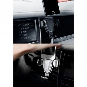 Baseus Air Vent Car Holder Smartphone Autolock - Black - 5