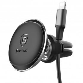 Baseus 360 Rotation Magnetic Air Vent Car Holder Smartphone - SUGX-A01 - Black - 3