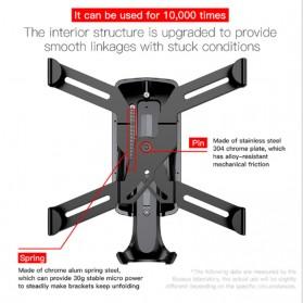 Baseus Air Vent Smartphone Holder Mobil - SUYL-SP01 - Black - 5