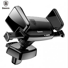 Baseus Air Vent Smartphone Car Holder Mobil - SUJXS-01 - Black