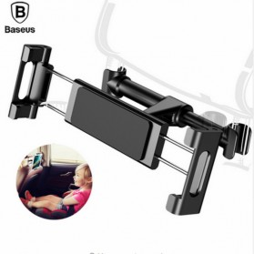 Baseus Backseat Smartphone Tablet Car Holder Mobil - SUHZ-01 - Black