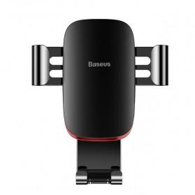 Baseus Air Vent Smartphone Car Holder Mobil - SUYL-D01 - Black