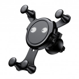 Baseus Emoticon Car Holder Smartphone - SUYL-EMJL - Black