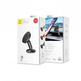 Baseus Bullet Magnetic Car Holder Smartphone - Black - 2