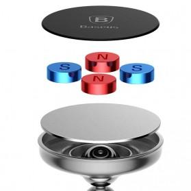Baseus Bullet Magnetic Car Holder Smartphone - Black - 6