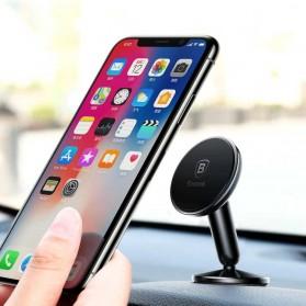 Baseus Bullet Magnetic Car Holder Smartphone - Black - 7