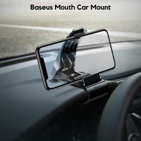 Baseus Universal Smartphone Car Holder Clip - SUDZ-01 - Black - 2