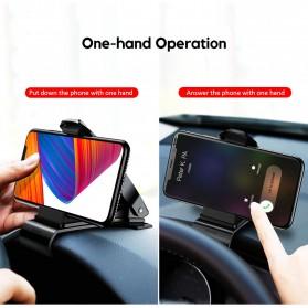 Baseus Universal Smartphone Car Holder Clip - SUDZ-01 - Black - 4