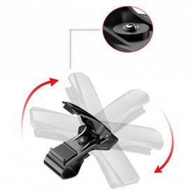 Baseus Universal Smartphone Car Holder Clip - SUDZ-01 - Black - 7