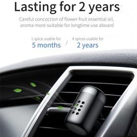 Baseus Parfum Mobil Car Air Vent Clip Aroma Sticks Citrus 5 PCS - PD01 - Black - 3