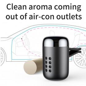 Baseus Parfum Mobil Car Air Vent Clip Aroma Sticks Citrus 5 PCS - PD01 - Black - 4
