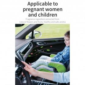Baseus Parfum Mobil Car Air Vent Clip Aroma Sticks Citrus 5 PCS - PD01 - Black - 8