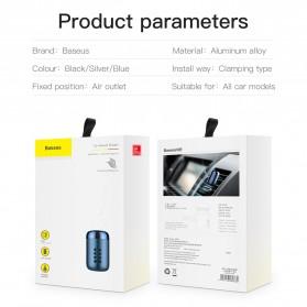 Baseus Parfum Mobil Car Air Vent Clip Aroma Sticks Citrus 5 PCS - PD01 - Black - 10