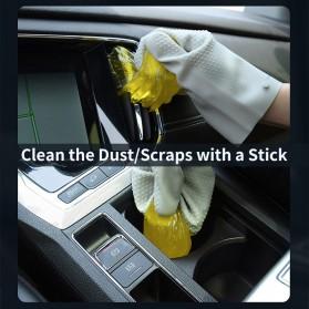 Baseus Glue Gum Car Cleaner Soft Gel Lem Karet Pembersih Debu Air Vent - Yellow - 4