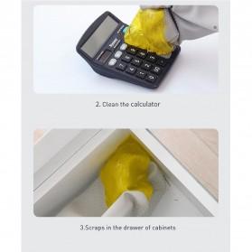 Baseus Glue Gum Car Cleaner Soft Gel Lem Karet Pembersih Debu Air Vent - Yellow - 9