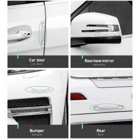 Baseus Pelindung Pintu Mobil Car Door Airbag Guard Edge Corner Protector Strip - CRFZT-A02 - Transparent - 2