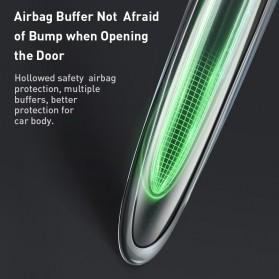 Baseus Pelindung Pintu Mobil Car Door Airbag Guard Edge Corner Protector Strip - CRFZT-A02 - Transparent - 4