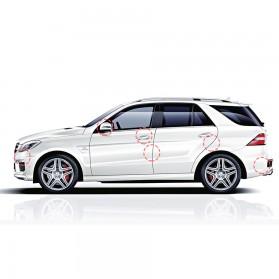 Baseus Pelindung Pintu Mobil Car Door Airbag Guard Edge Corner Protector Strip - CRFZT-A02 - Transparent - 9