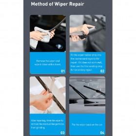 Baseus Rain Wing Alat Reparasi Wiper Mobil Car Repairer - CRXFQ-0A - Black - 9