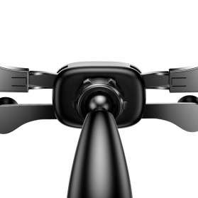 Baseus Car Holder Smartphone Horizontal Screen Gravity - SUYL-HP01 - Black - 4