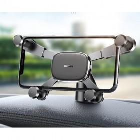 Baseus Car Holder Smartphone Horizontal Screen Gravity - SUYL-HP01 - Black - 7