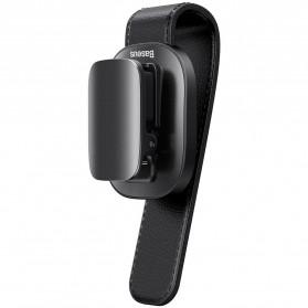 Hobi - Baseus Clip Gantungan Kacamata Car Eyewear Clamping - ACYJN-B01 - Black