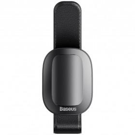 Baseus Clip Gantungan Kacamata Car Eyewear Clamping - ACYJN-B01 - Black - 2