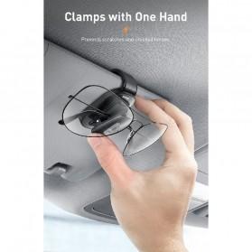 Baseus Clip Gantungan Kacamata Car Eyewear Clamping - ACYJN-B01 - Black - 4