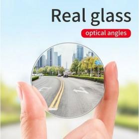 Baseus Kaca Spion Cembung Wide Angle Blindspot Rearview Mirror 2 PCS - ACMDJ-01 - Transparent - 2