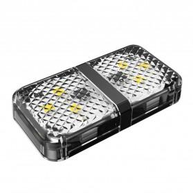Mobil - Baseus Lampu LED Pintu Mobil Door Open Warning Light 2 PCS - CRFZD-01 - Black